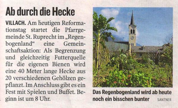 Kleine Zeitung, 31.10.2014