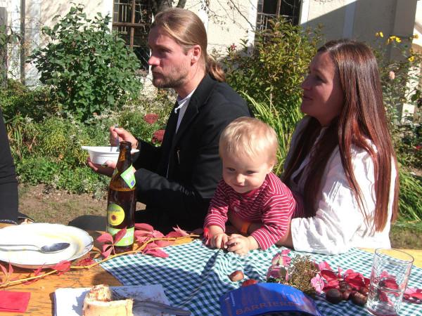 mit Astrid und Julie